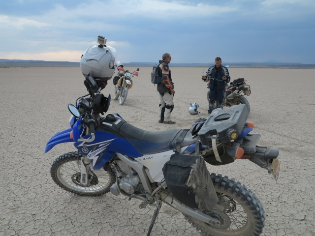 Chatting in the Playa. Lone Mountain Loop, 2013 Edition