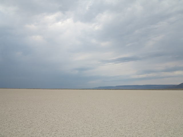 The Playa in the Catlow Valley. Lone Mountain Loop, 2013 Edition