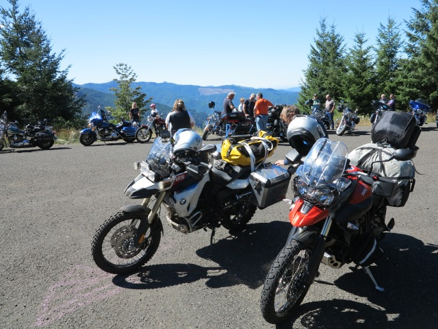 Adventure bikes and and Cruisers