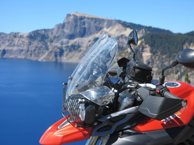 The Tiger is back at the Crater Lake
