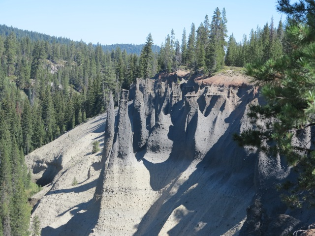 Volcanic Spires on Pinnacle Valley