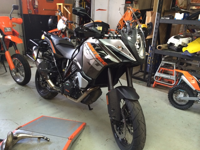 KTM 1190 Adventure Demo @ KTM Country