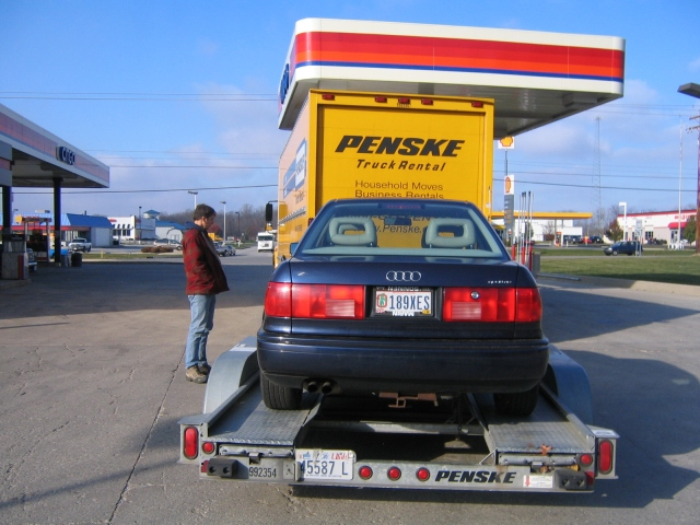 Since we are talking about Ohio, here is my move in 2005. Everything I owned in one truck and one trailer.