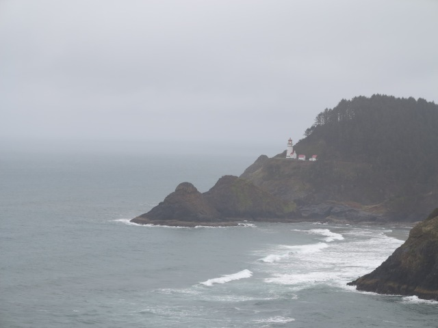 Heceta Lighthouse in Action