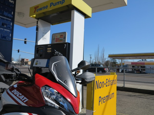 Non-ethanol gasoline is your bike's friend
