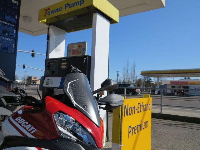 Non-ethanol gasoline is your bike's friend