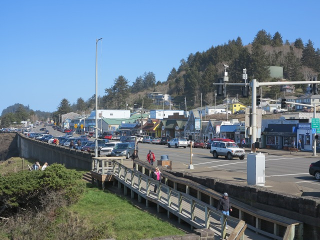 101 goes through Depot Bay