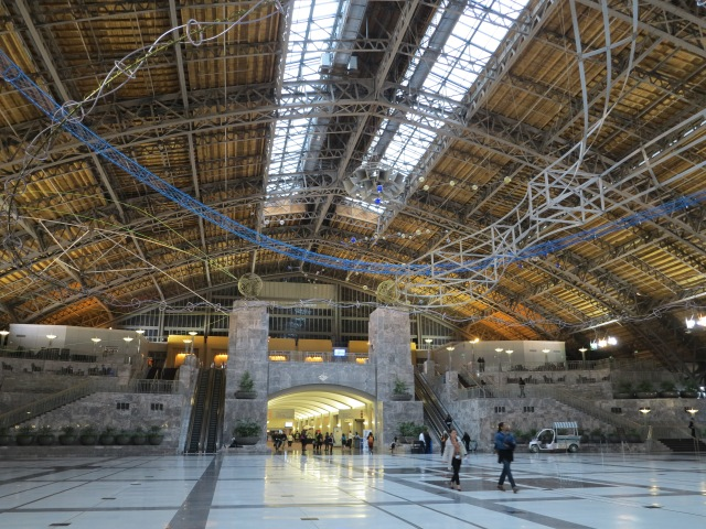 From the East Market station to the Convention Center