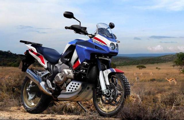 EnduroPro Magazine's rendition of the New Africa Twin