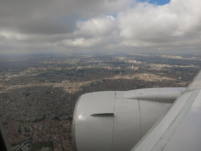 Arriving in São Paulo, May 10th, 2014