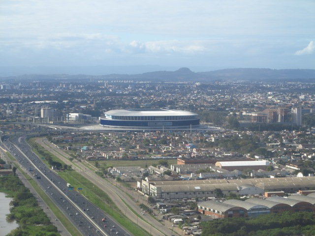 Arena do Grêmio, Gremio's stadium. May 10th, 2014