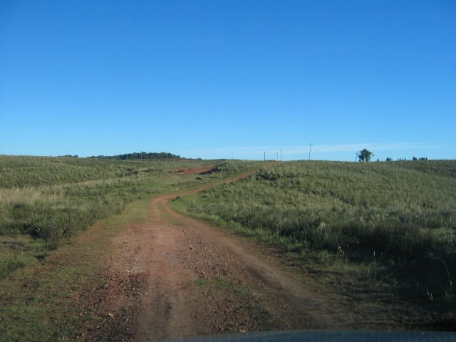 Access road to the Ranch, Uruguay, April 2006