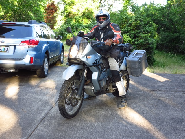 Doug and his KTM