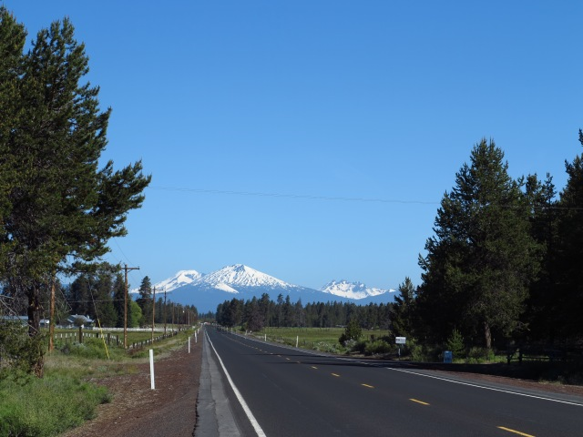 Mt Bachelor as viewed from Hwy 31, close to Hwy 97.