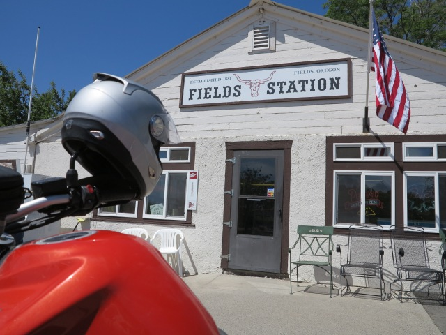 Fields Station, OR.