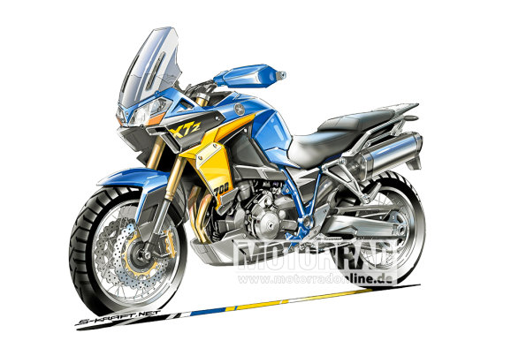 Will this be Yamaha's new mid-size adventure bike?