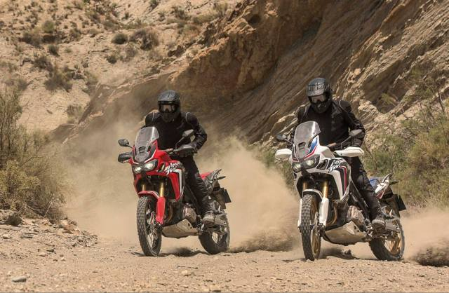 Honda Africa Twin - may have a true adventure competitor soon!