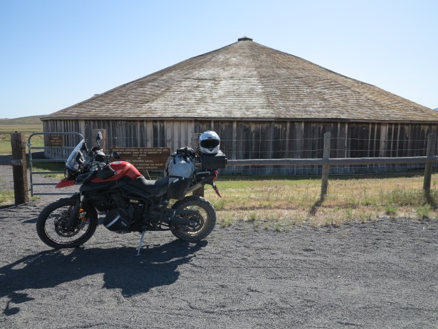 The Peter French Round Barn.