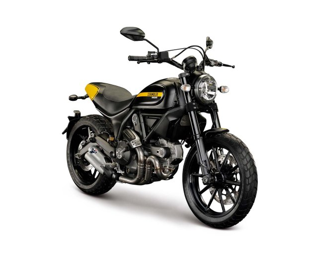 2015 Scrambler Full-Throttle - Photo Courtesy Ducati via Asphalt and Rubber