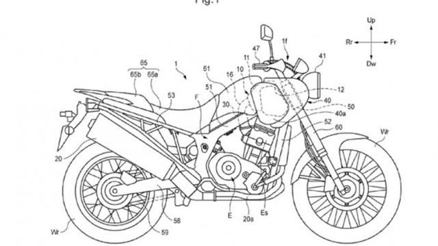 Honda Patent on Aircleaner