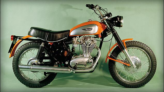 1970's Original Ducati Scrambler