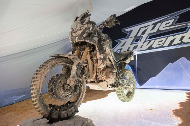New Africa Twin prototype