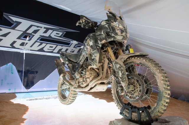 Honda's prototype of the New Africa Twin