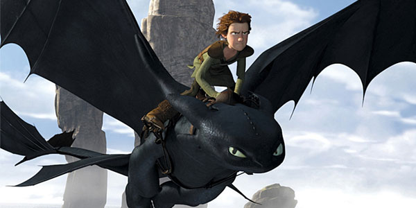 Hiccup's pet dragon