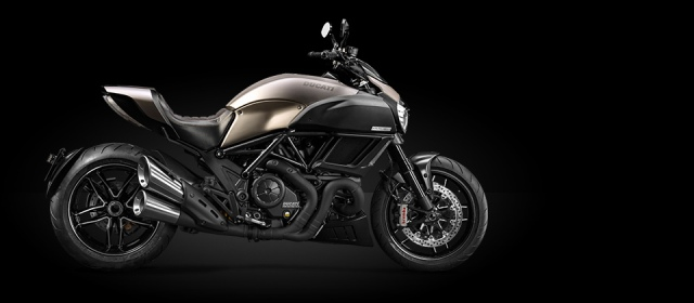 2015 Limited Production Diavel Titanium - Only 500 units will be commercialized