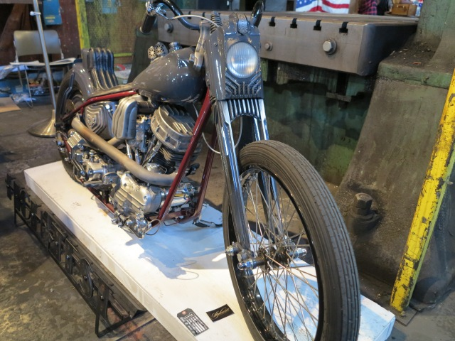 "1960 Harley - ""Steam Hammer"""