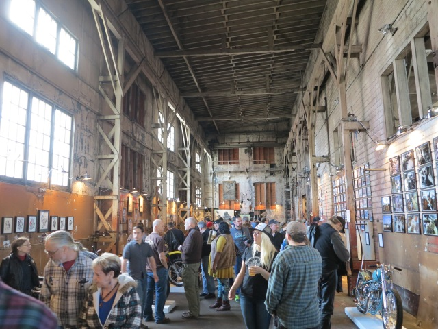 Re-purposed old industrial building
