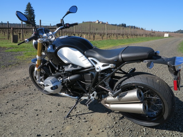 Riding the BMW R NineT, Spring 2015