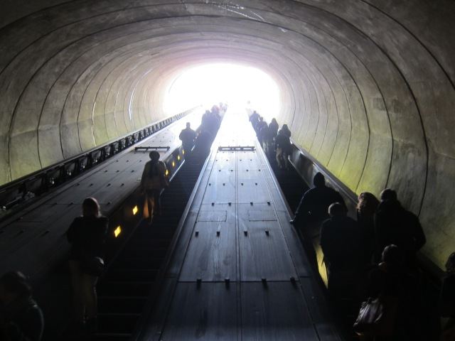 Dupont Circle Metro Station - Washington DC
