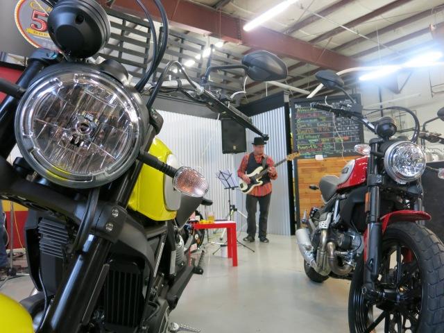 Scrambler Ducati at Claim 52 Brewery