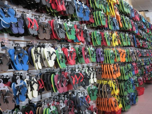 Flip flops anyone? Majuro Atoll.