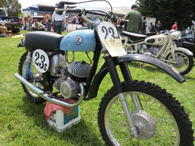 1964 CZ 250 Twinpipe
