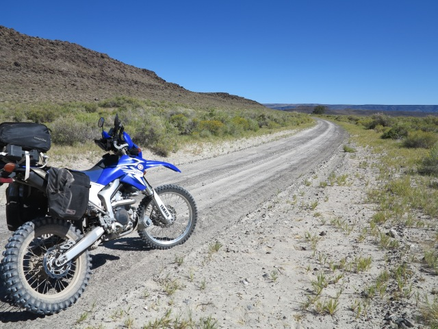 WR250R gets on an adventure