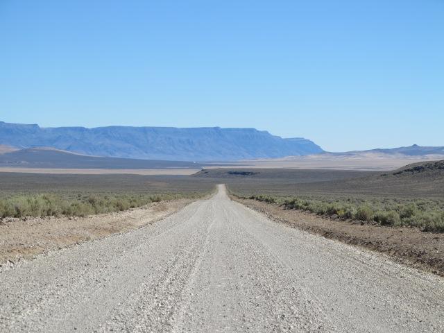 Miles of gravel