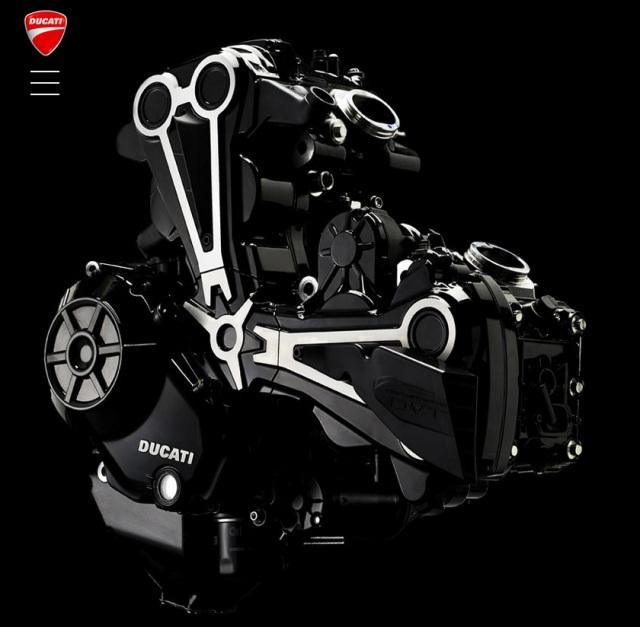 The Diavel X DVT Motor
