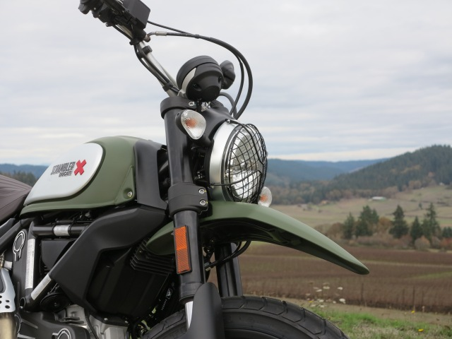The 2016 Urban Enduro Scrambler Ducati