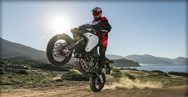 Multistrada Enduro in Action. Besides journalists, and professional riders who else will ride it like this?