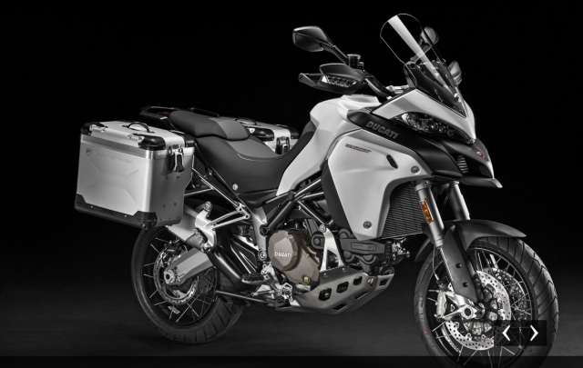 Multistrada Enduro with bags