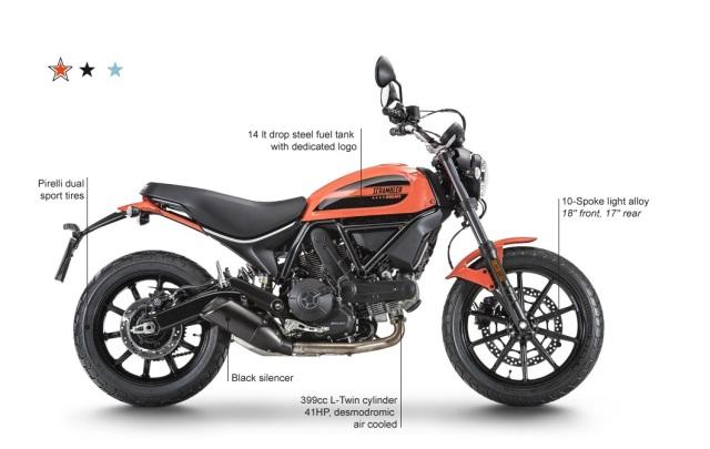2016 Sixty2 Scrambler Ducati