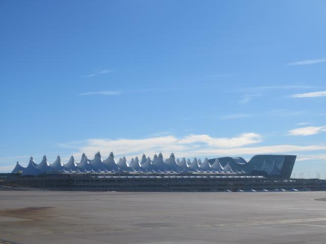 Denver Airport main Terminal - January 27th, 2016