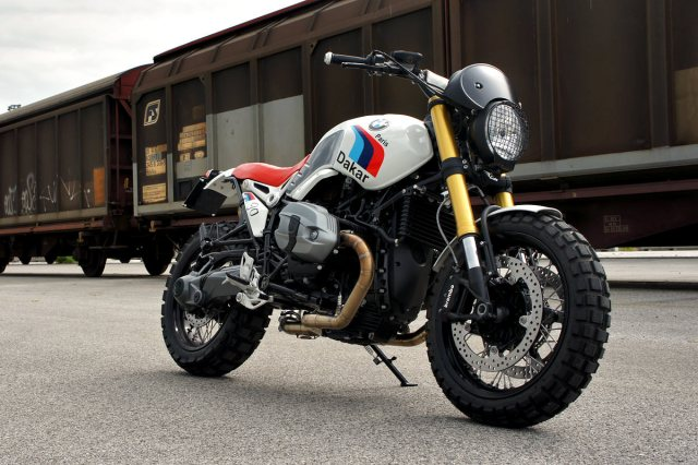 Luis Moto's Scrambler version of the BMW R nineT