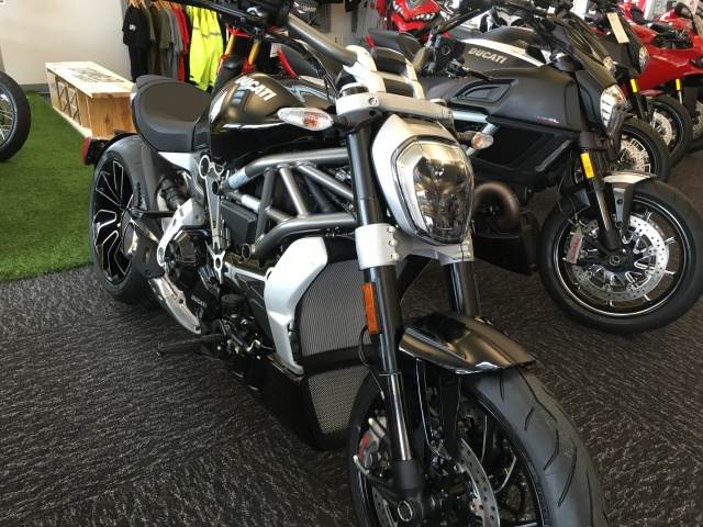 The XDiavel and the Diavel