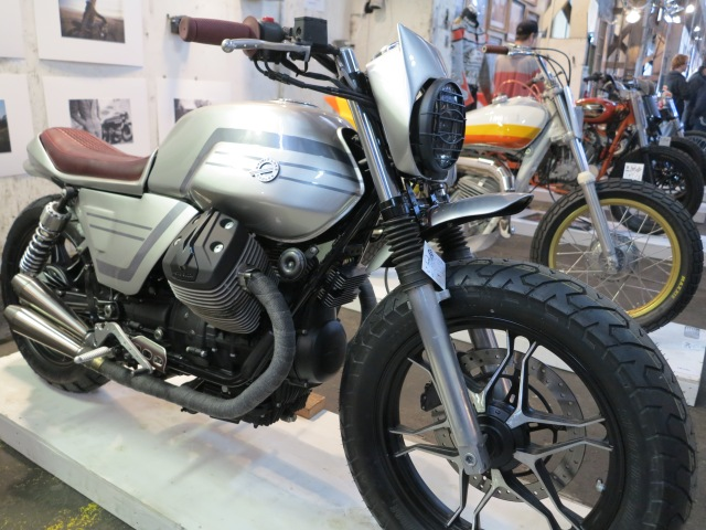 Moto Guzzi Scrambler at One Moto Show, 2015
