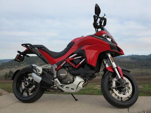 2016 Ducati Multistrada DVT - a handsome machine.