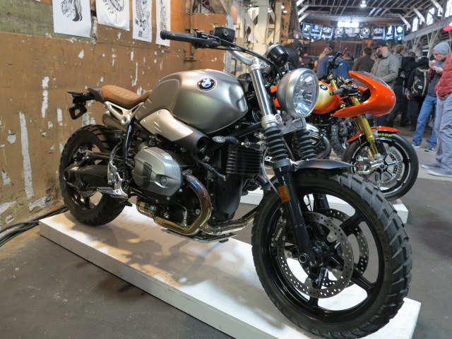 Pre-production 2017 BMW R nineT Scrambler