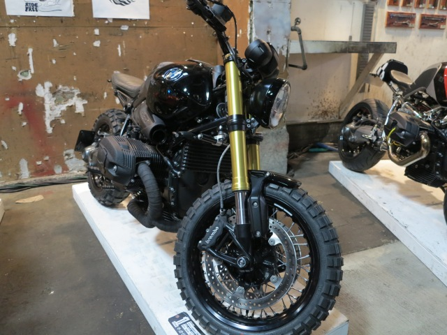 """""""Home made"""" scrambler out of BMW R nineT"""